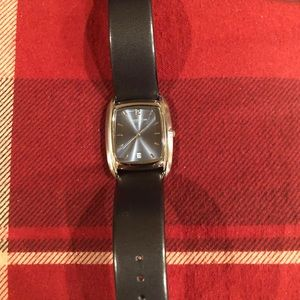 Kenneth Cole men's leather watch